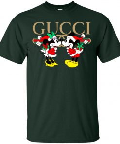 Gucci x Disney Mickey Christmas Classic T-Shirt Amazon Best seller