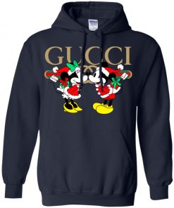 Gucci x Disney Mickey Christmas Hoodie Amazon Best seller
