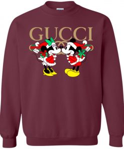 Gucci x Disney Mickey Christmas Sweatshirt Amazon Best seller