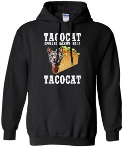 Tacocat Spelled Backwards Is Tacocat Hoodie Amazon Best seller