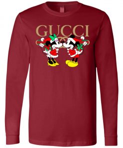 Gucci x Disney Mickey Christmas Long Sleeve Amazon Best seller