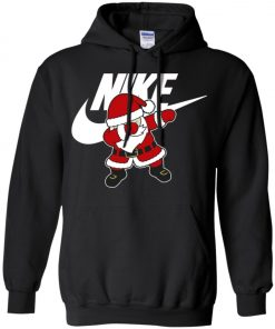 Nike Christmas Santa Claus Dabbing Hoodie Amazon Best seller