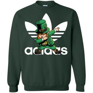 Adidas Leprechaun Irish Dabbing Sweatshirt Amazon Best seller