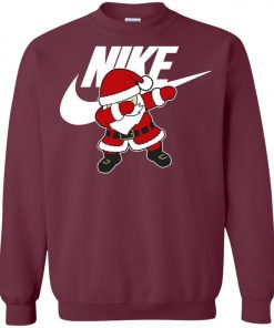 Nike Christmas Santa Claus Dabbing Sweatshirt Amazon Best seller