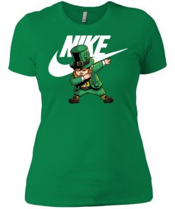Nike Leprechaun Irish Dabbing Women's T-Shirt Amazon Best seller