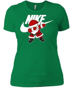 Nike Christmas Santa Claus Dabbing Women's T-Shirt Amazon Best seller