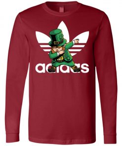Adidas Leprechaun Irish Dabbing Long Sleeve Amazon Best seller