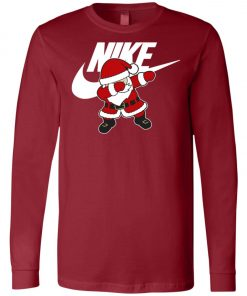 Nike Christmas Santa Claus Dabbing Long Sleeve Amazon Best seller