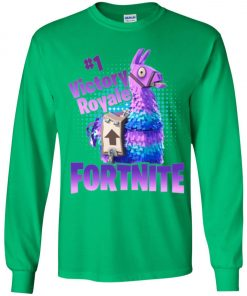 Fortnite Victory Royale Lucky Llama Youth Sweatshirt Amazon best Seller
