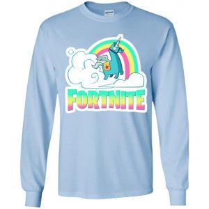 Fortnite Battle Royale Unicorn Rainbow Youth Sweatshirt Amazon best Seller