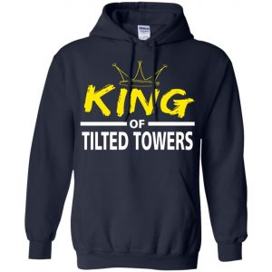 Fortnite King Of Tilted Tower Hoodie Amazon best Seller