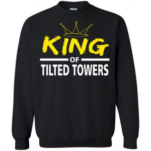 Fortnite King Of Tilted Tower Sweatshirt Amazon best Seller
