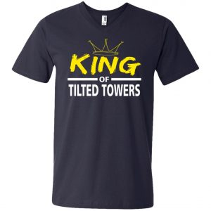 Fortnite King Of Tilted Tower V-Neck T-Shirt Amazon best Seller