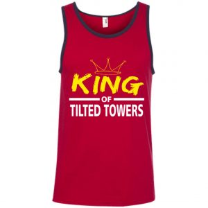Fortnite King Of Tilted Tower Tank Top Amazon best Seller