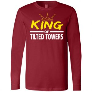 Fortnite King Of Tilted Tower Long Sleeve Amazon best Seller
