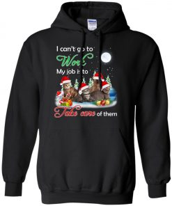 Cat Mom Job Is To Take Care Of Cats Hoodie Amazon best Seller