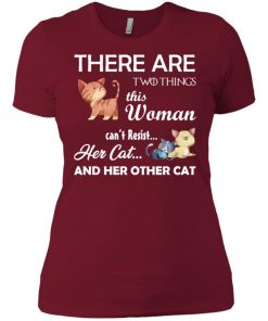 Woman Cat Lover Women's T-Shirt Amazon best Seller