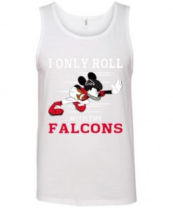 Atlanta Falcons Fanatics Mickey I Only Roll With Falcons Tank Top