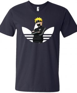 Naruto Adidas V-Neck T-Shirt Amazon best Seller