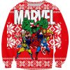 a0a8b84423f Bugs Bunny Vs Homer Simpson 3D Hoodie. Marvel Super Heroes Ugly Sweater