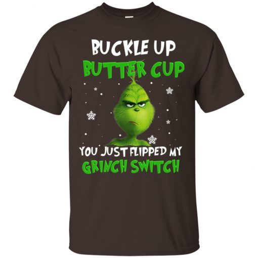 Grinch Christmas Buckle Up Butter Cup Classic T-Shirt Amazon Best Seller