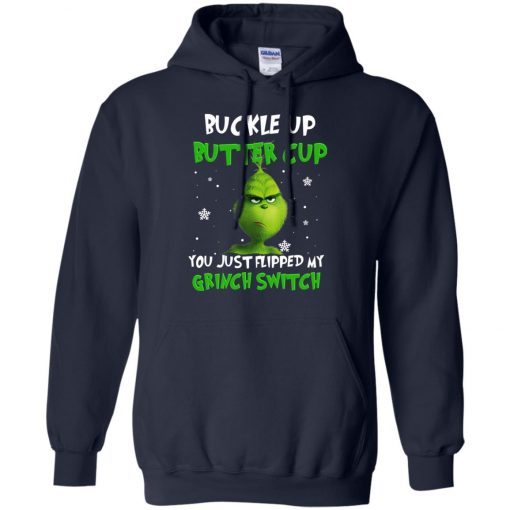 Grinch Christmas Buckle Up Butter Cup Hoodie Amazon Best Seller