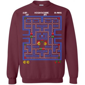 Pacman Ugly Christmas Sweater