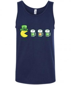 Irish Pacman Eat Beer Tank Top