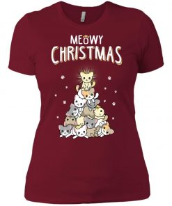 Christmas Meowy Catmas Women's T-Shirt