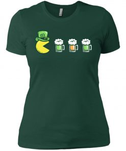Irish Pacman Eat Beer Women's T-Shirt