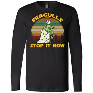 Seagulls Stop It Now Star Wars Long Sleeve