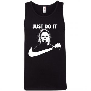 Michael Myers Nike Just Do It Tank Top