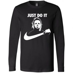 Michael Myers Nike Just Do It Long Sleeve