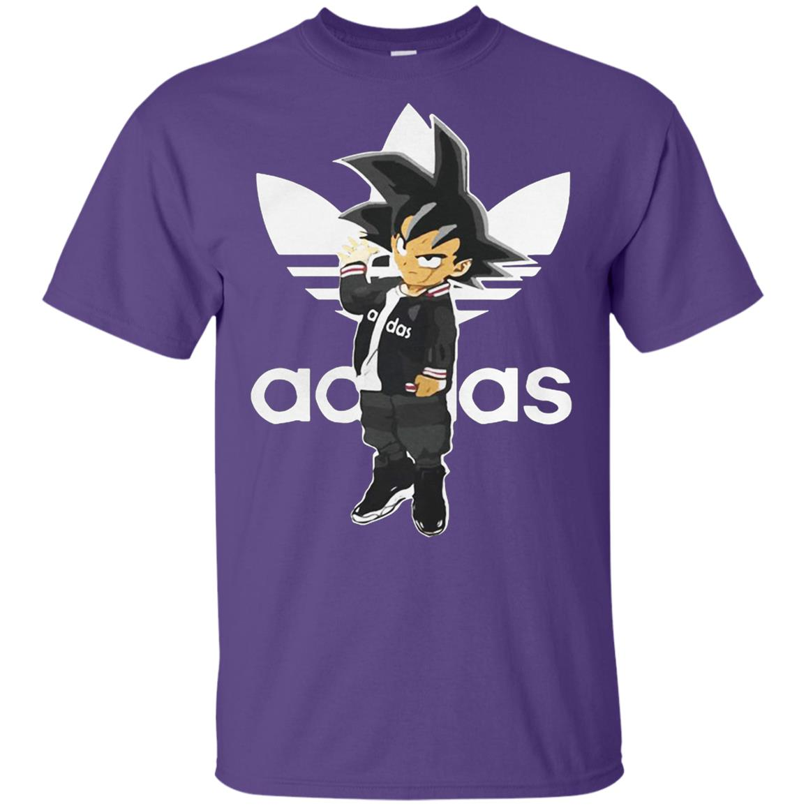 07436ffd21c27 Saiyan Adidas Goku Adidas Dragon Ball BDZ 2018 Youth T-Shirt