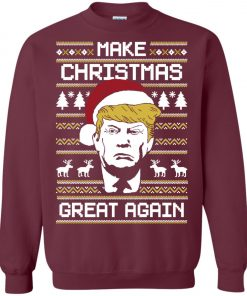 Donald Trump Make Christmas Great Again Sweatshirt