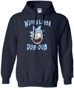 Rick And Morty Wubba Lubba Dub Dub Hoodie