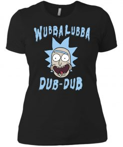 Rick And Morty Wubba Lubba Dub Dub Women's T-Shirt Amazon Best Seller