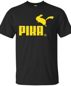 Pokemon Pikachu Puma Pika Men's T-Shirt Amazon Best Seller