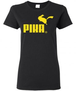 Pokemon Pikachu Puma Pika Women's T-Shirt Amazon Best Seller