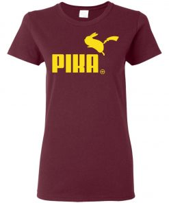 Pokemon Pikachu Puma Pika Women's T-Shirt