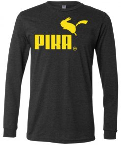Pokemon Pikachu Puma Pika Long Sleeve