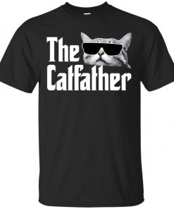 The Catfather The Godfather Men's T-Shirt Amazon Best Seller