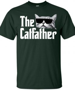 The Catfather The Godfather Men's T-Shirt