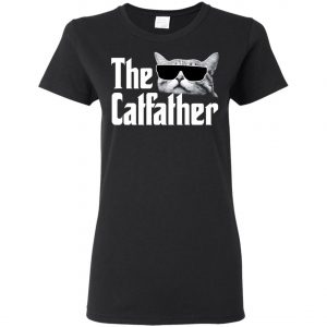 The Catfather The Godfather Women's T-Shirt Amazon Best Seller