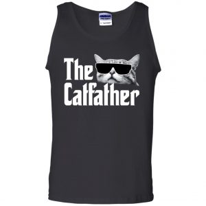 The Catfather The Godfather Men's Tank Top