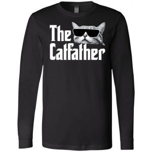 The Catfather The Godfather Long Sleeve Amazon Best Seller
