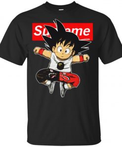 Supreme DBZ Hypebeast Goku Youth T-Shirt Amazon Best Seller