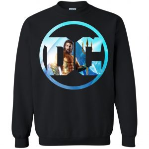 Aquaman DC Comics Logo Sweatshirt Amazon Best Seller
