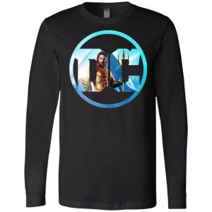Aquaman DC Comics Logo Long Sleeve Amazon Best Seller