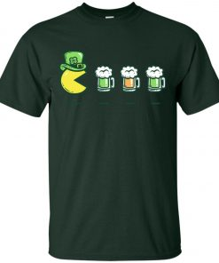 Irish Pacman Eat Beer Classic T-Shirt